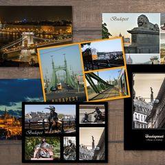 6 pcs Postcard Bundle - Budapest