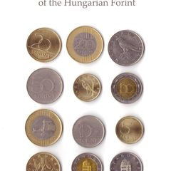 Coins of Hungarian Forint - Postcard