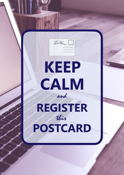 Keep calm postcardsisters ke109c