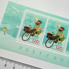 Hungarian Postcrossing Stamp Sheet