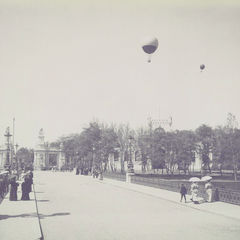 Hot Air Ballons - Vintage Photo Postcard