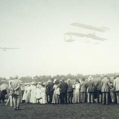 Flugzeuge - Vintage Foto Postkarte