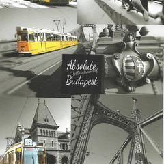 Absolute Yellow Trams of Budapest Postcard