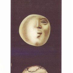Ország Lili: Moons - Oversized Art Postcard