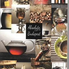 Absolute Cafes of Budapest - Postcard
