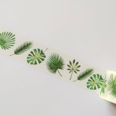 Washi tape - Leaves