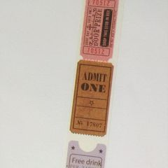 Washi tape - Tickets