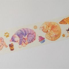Washi tape - Cats and Sweeties