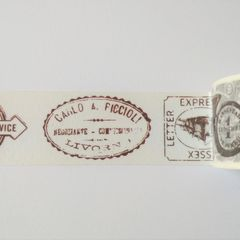 UV Washi tape - Postal Seals