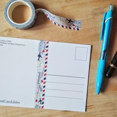"Washi tape - ""Happy Postcrossing!"" by PostcardSisters"