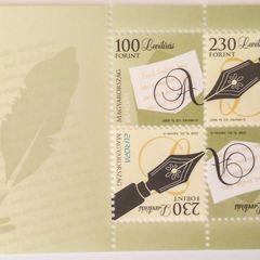 Levélírás kisív - EURÓPA 2008 bélyeg