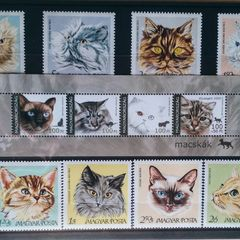 Cats - Thematic Stamp Collection