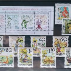Mesehősök - tematikus bélyegösszeállítás