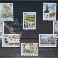 World Heritage Sites in Hungary - Thematic Stamp Collection