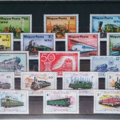 Trains - Thematic Stamp Collection