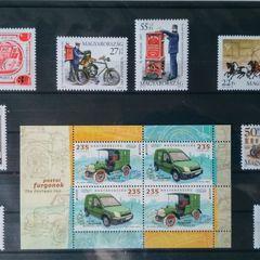 Postatörténet III. - tematikus bélyegösszeállítás