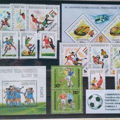 Fußball I. - Thematische Briefmarken-Zusammenstellung