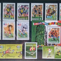 Fußball II. - Thematische Briefmarken-Zusammenstellung