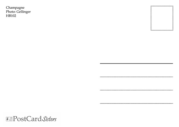 Champagne postcard hb102 02