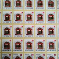 20 HUF - Postal History Hungarian Stamp