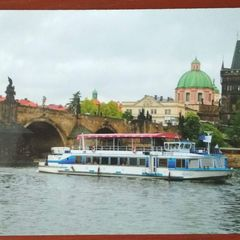 Ship on the Vltava