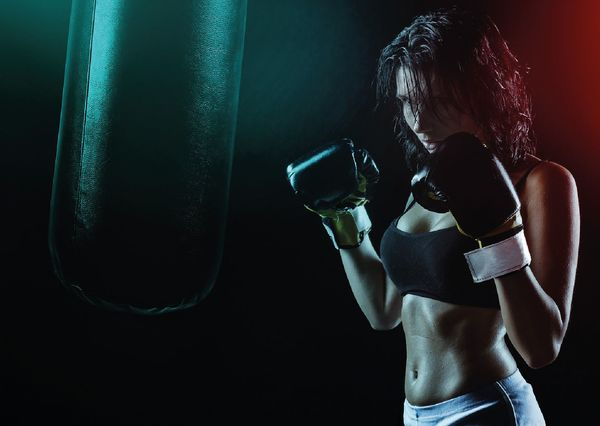 Boxer woman pp110 01c