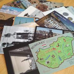 Ungarn - 20 Stck Postkarten Paket